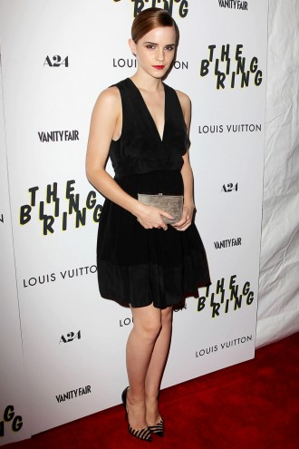 Emma Watson at the New York premiere of The Bling Ring