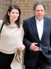 Nigella Lawson Charles Saatchi going for lunch in London