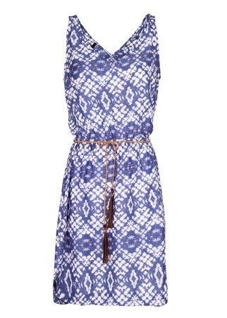 Mango printed dress, £29.99