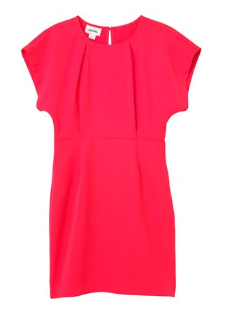 Monki kickpleat dress, £35
