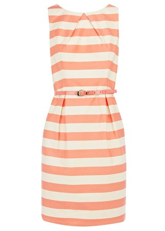 Oasis striped dress, £60