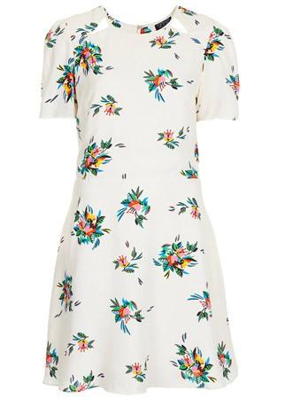 Topshop floral print dress, £45
