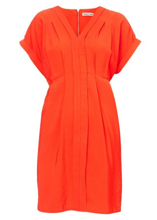 Whistles draped dress, £95