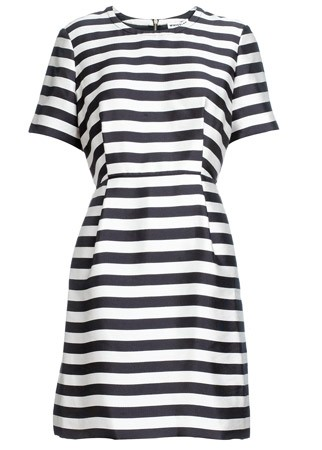 Whistles striped dress, £165