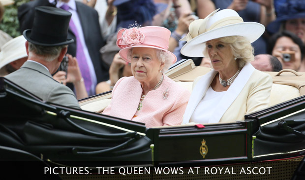 The Queen Wows At Royal Ascot
