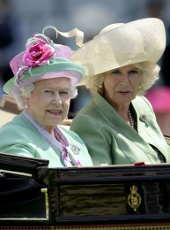 The Queen at Royal Ascot 2013