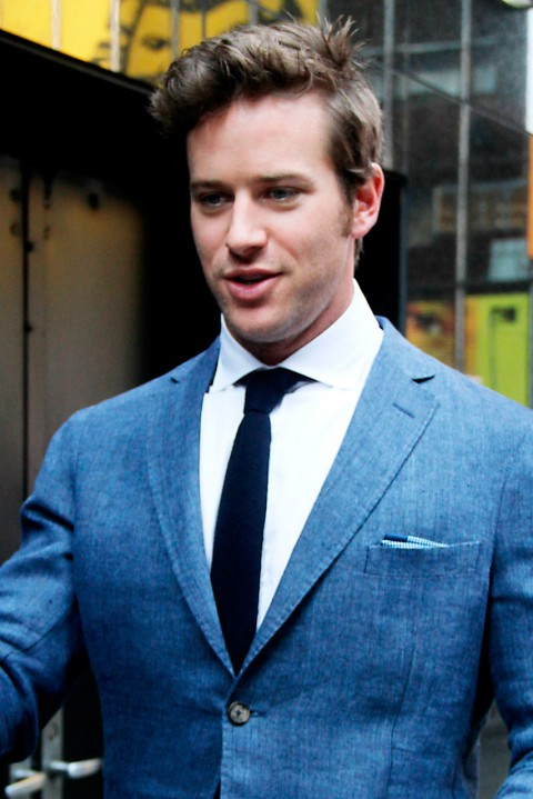 Armie Hammer - Fifty Shades of Grey Movie - 50 Shades of Grey movie