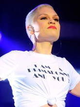 Jessie J performs on stage