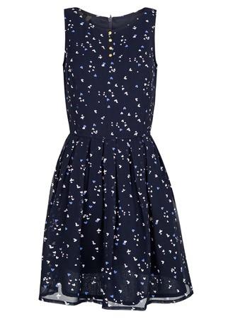 Mango heart print dress, £34.99