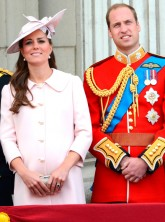 Kate Middleton and Prince William at Trooping the Colour