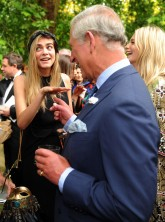 Cara Delevingne and Prince Charles at the Animal Ball