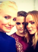 Cameron Diaz, Kristen Stewart and Stella McCartney