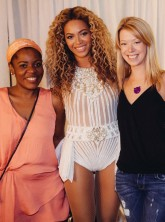 Beyonce meets Boston bombing survivors