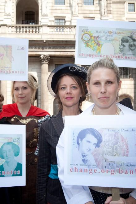 Caroline Criado Perez campaigns for the Jane Austen bank note