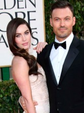 Megan Fox and husband Brian Austin Green at the Golden Globes