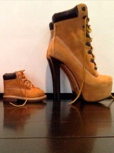 Beyonce, Jay Z and Blue Ivy's shoes