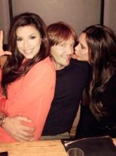 Victoria Beckham and Eva Longoria dine out in LA
