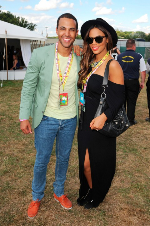 Marvin and Rochelle Humes - V Festival 2013