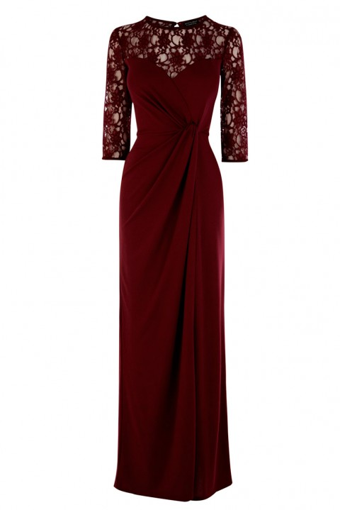 Winter wedding guest maxi dresses images for Dresses for winter wedding guest