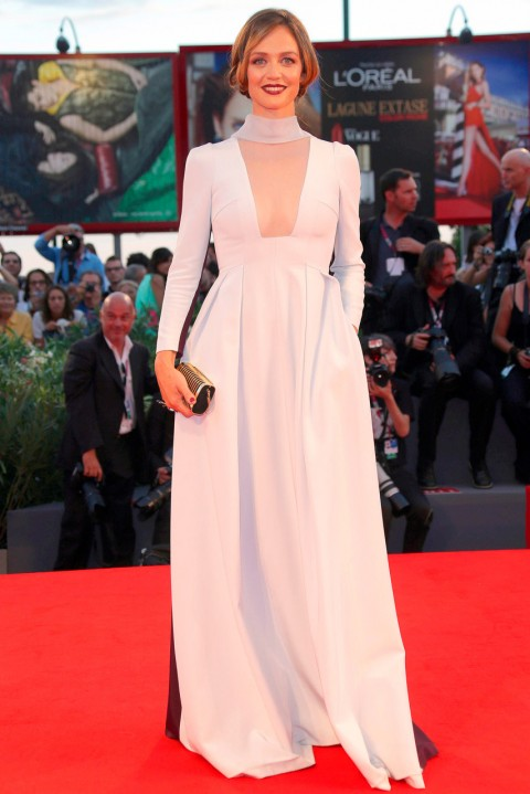 Francesca Cavallin at the Venice Film Festival 2013
