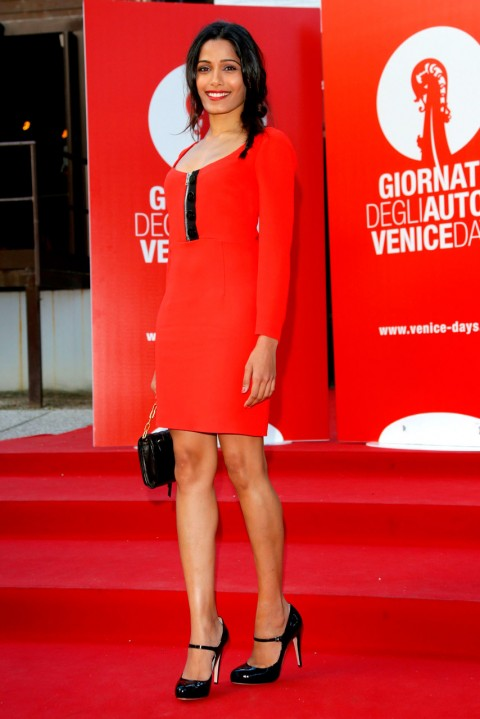 Freida Pinto at the Venice Film Festival 2013