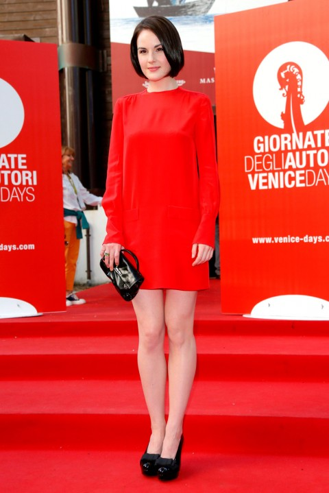 Michelle Dockery at the Venice Film Festival 2013