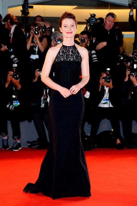 Mia Wasikowska at the Venice Film Festival 2013