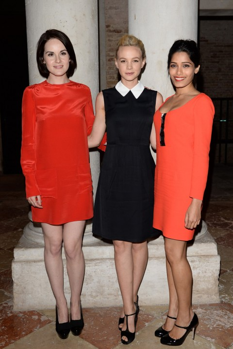 Michelle Dockery, Carey Mulligan and Freida Pinto
