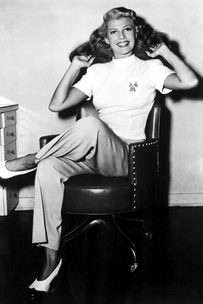 Famous Clothing Designers In The 1940 Rita Hayworth
