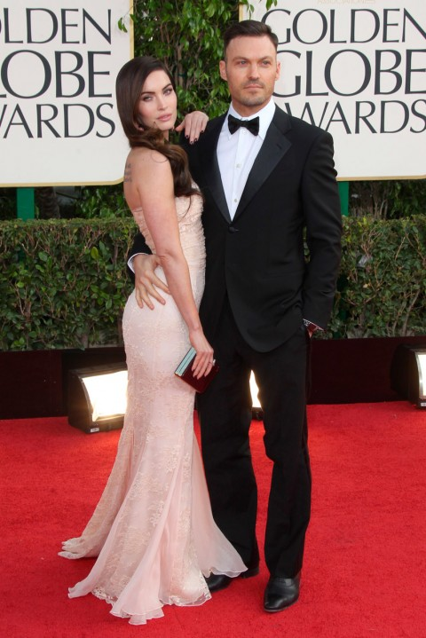 Megan Fox and Brian Austin Green - Pregnant Celebrities - Celebrity Baby Bumps