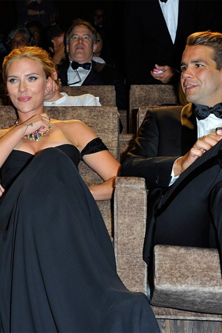 Scarlett Johansson - Romain Dauriac - Celebrity engagements - Marie Claire - Marie Claire UK