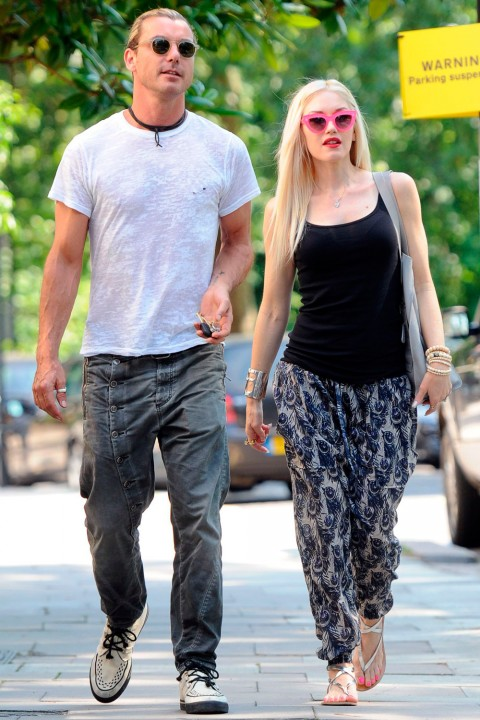 Gwen Stefani and Gavin Rossdale - Pregnant Celebrities