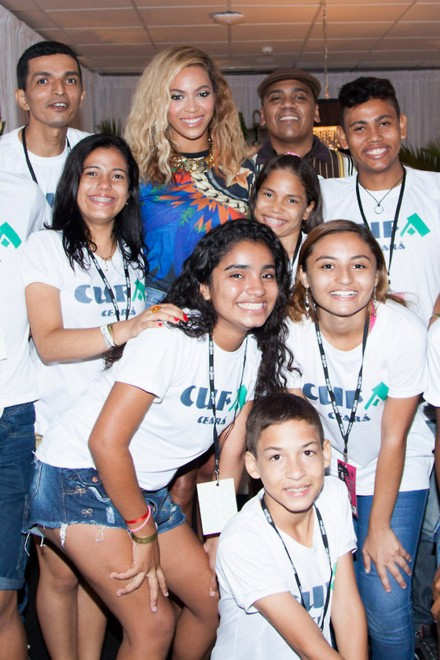 Beyonce kicks off the South American leg of her world tour