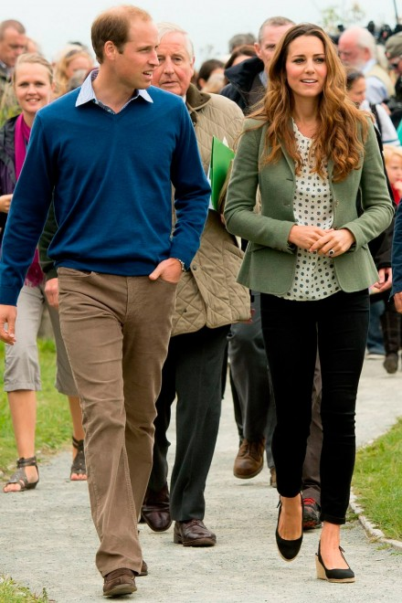 Prince William, Kate Middleton at a charity run