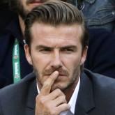 David Beckham at the US Open