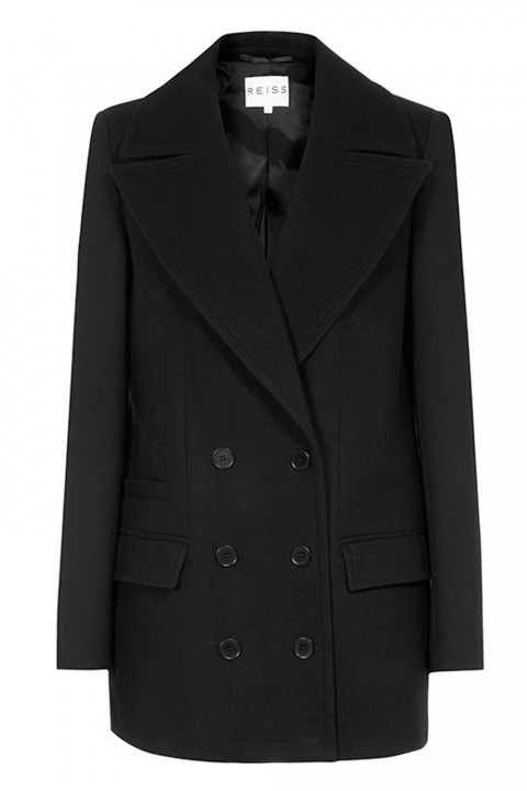 Reiss Wool And Jersey Peacoat, £275 - Winter Coats 2013