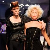 Beauty backstage at Jean Paul Gaultier, Paris Fashion Week