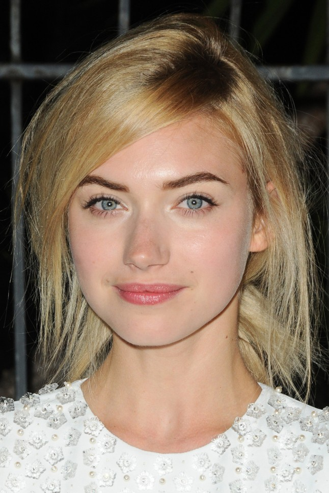 4. She's all about female empowerment - Imogen-Poots