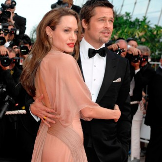 Brad Pitt and Angelina Jolie at the Cannes Film Festival