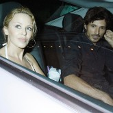 Kylie Minogue on a dinner date with boyfriend Andres Velencoso