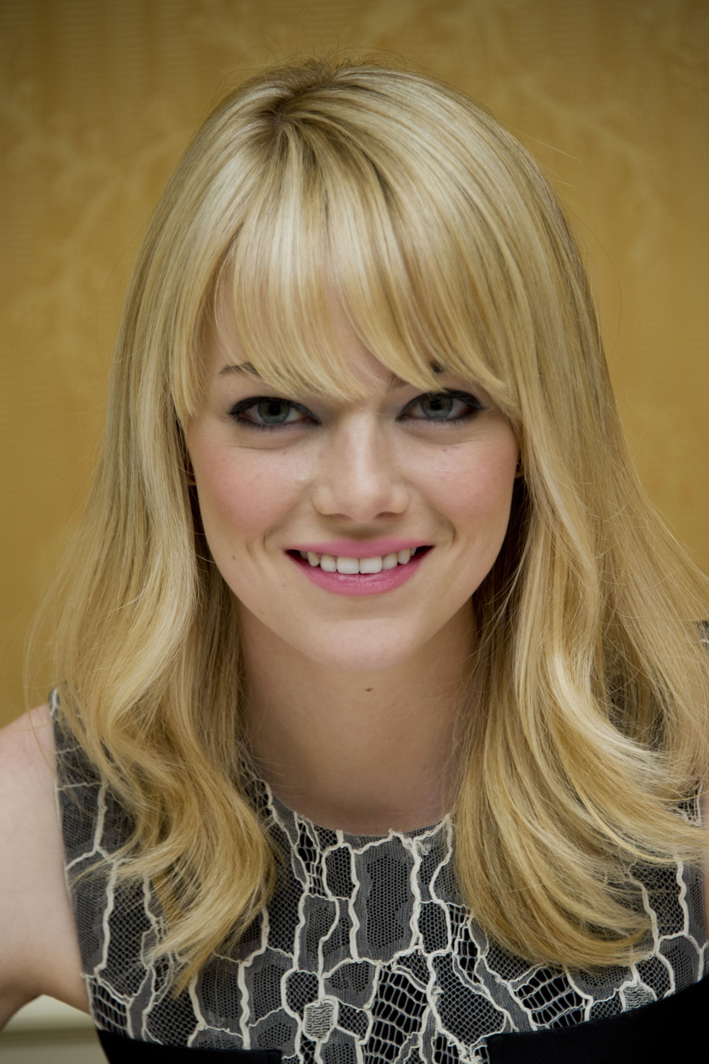 Watch Emma Stone beauty secrets video