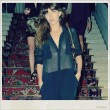 Lou Doillon wearing a jumpsuit