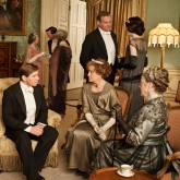The Downton Abbey cast of series 4