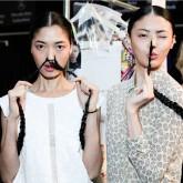 Hair Plaits - two models wearing plaits