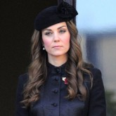 Kate Middleton at the Remembrance Service at the London Cenotaph