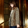 Alexa Chung wearing a winter coat