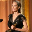 Angelina Jolie thanks Brad Pitt and her family during emotional acceptance speech