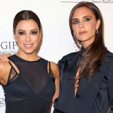 Victoria Beckham joins Eva Longoria at the Global Gift Gala in London