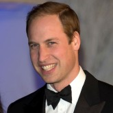 Prince William arriving at the Winter Whites Centrepoint Gala at Kensington Palace