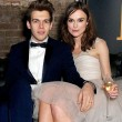 Keira Knightley and James Righton on the red carpet